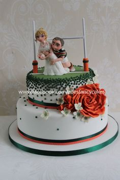 Rugby wedding cake Hunslet Hawks