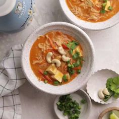 Red Curry Noodle Soup – – You are in the right place about healthy dinner recipes on a budget Here we offer you the most beautiful pictures about the healthy dinner recipes you are looking for. When you examine the Red Curry Noodle Soup – – … Healthy Food Recipes, Easy Soup Recipes, Vegetarian Recipes, Healthy Soups, Simple Recipes, Flour Recipes, Cooking Recipes, Gluten Free Recipes For Dinner, Healthy Dinner Recipes