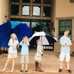 We love the rain and