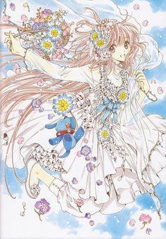 """Kobato Hanato from """"Kobato"""" series by manga artist group CLAMP."""