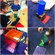 Exploring, creating, and problem-solving with polygons and polyhedrons using Magna Tiles, what could be more fun?!