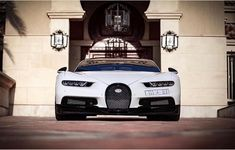 Bugatti Chiron painted in White w/ exposed carbon fiber  Photo taken by: @speedbooost on Instagram   Owned by: @yazeedalrajhi on Instagram