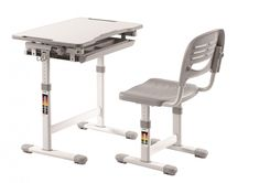 Set birou pentru copii Comfortline Grey #backtoschool #kids #kidsroom #school Desk And Chair Set, Kid Desk, Drafting Desk, Modern Design, Drawers, Colours, Children, Furniture, Home Decor