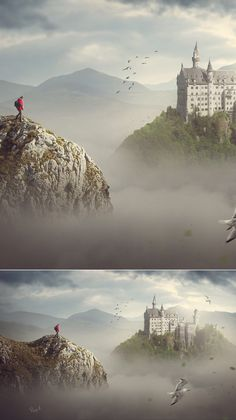 Free Adobe Photoshop tutorials, learn Photo Manipulation tricks and effects that can turn your photo or artwork into a masterpiece of art. These new Photoshop Photoshop For Photographers, Photoshop Photography, Landscape Photography, Creative Photography, Photography Tips, Photoshop Tutorial, Photoshop Actions, Photoshop Logo, Free Photoshop
