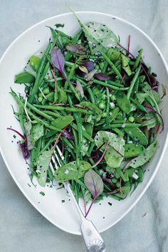 // green bean salad