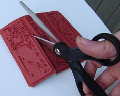 Rubber stamp mounting tutorial - Mounting your own stamps is fun and less expensive.