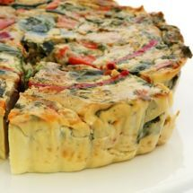 Quiche can be a healthy, go-to meal. That is, after you give is a drastic yet easy makeover. Learn how--and get 12 tasty new ways to fill a quiche. Vegetarian Recipes, Cooking Recipes, Healthy Recipes, Cuban Recipes, Healthy Food, Delicious Recipes, Asparagus Quiche, Ham Quiche, Tomato Quiche