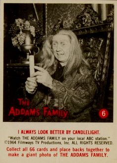 The Addams Family (1964 Topps Cards)