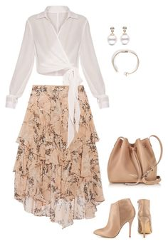 """""""Skirt"""" by walwala-z on Polyvore featuring Steve Madden, Lancaster and Jason Wu"""