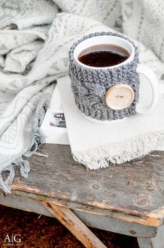 How to make a Cozy cup of coffee sweater