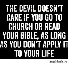 The Devil Doesn't Care...