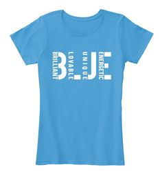 Blue Power Heathered Bright Turquoise   Women's T-Shirt Front