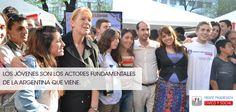 Los jóvenes son los actores fundamentales de la Argentina que se viene