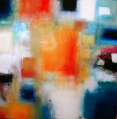 """Abstract Painting """"Allegro"""" by Jeffrey Bisaillon"""