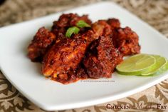 Ruchik Randhap (Delicious Cooking): Chicken Masala Fry ~ Appetizer or Side Dish!