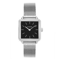 febd74113aa9 Ananke Women s Luxury Square Mesh Quartz Wristwatch