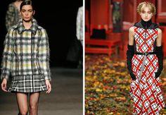 Tendenze moda donna autunno 2015: fantasie glam e nostalgiche