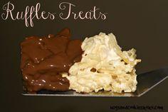 Chocolate Dipped Ruffles Potato Chip