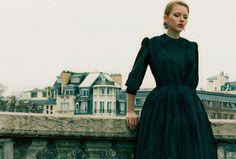 Ulyana Sergeenko  lookbook in Paris