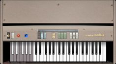 Combo Model F is a freeware virtual combo organ, modelled after a well-known Italian combo organ from the 1960s. By Martinic