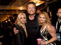 Pin for Later: The 50th ACM Awards Bring Out Country Stars, Hot Couples, and Even Sofia Vergara! Ashley Monroe, Blake Shelton, and Miranda Lambert