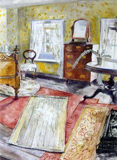 Thomas Hennell, 'Interior' c.1930-2