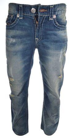 True Religion Men's Super T Flap Pocket Straight Jean Size 31 Geatest Hits NWT #TrueReligion #ClassicStraightLeg