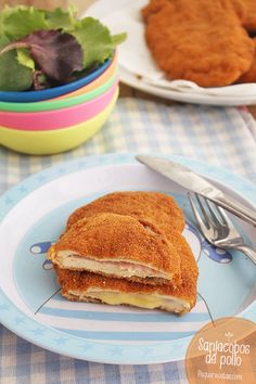 Os enseñamos a preparar Sanjacobos de pollo, una receta fácil que gusta a niños y adultos. No os perdáis esta receta paso a paso.
