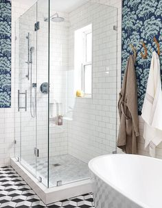 Browse beautiful modern and traditional bathrooms with stunning shower ideas for your next reno.