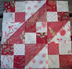 Jacob's Ladder Quilt Block - Image Only -on Auntie's Quaint Quilts at http://auntiesquaintquilts.blogspot.com/search?updated-max=2010-03-26T14:42:00%2B11:00=15=154=false