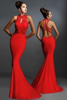 ADOfashion Floor Length Elegant Dress - All Decd Out