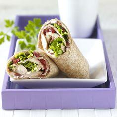 Rotisserie Chicken and Cranberry Sandwiches