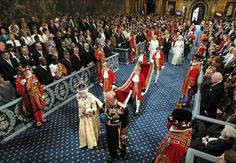This week -- for the 57th time--  Her Majesty Queen Elizabeth opened Parliament.  She's only ever missed the opening of a parliamentary session during her pregnancies with Princes Andrew and Edward.