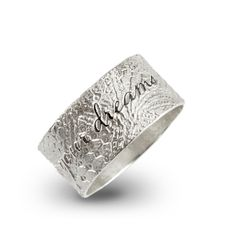 Personalised Silver Lace Jewelry by Ambretine Koeketine & Twikit Create your own @ ambretine.twikit.com