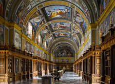 The Escorial Library, Spain / by Will Pryce