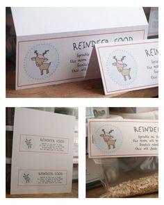 reindeer food printable