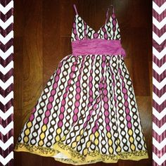 Beautiful Tribal Dress Beautiful Tribal Dress. Worn once. Excellent condition. Max Studio Dresses