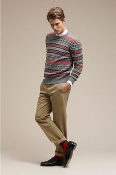 How To Wear: The Fair Isle Sweater | Lookastic for Men