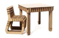 Build Up, meubles en carton pour enfants
