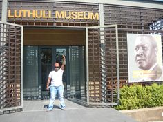Luthuli Museum, Groutville, KwaZulu Natal, South Africa (Cape Town could do with a Sobukwe Museum, the man stayed at Rhobben Islands Places Ive Been, Places To Go, Kwazulu Natal, Cape Town, Statues, South Africa, Islands, Public, Museum