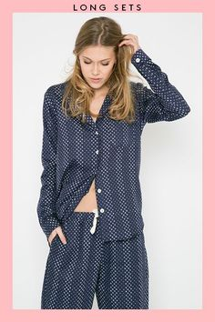The Adult's Guide To Pajamas #refinery29  http://www.refinery29.com/adult-pajama-guide#slide-9  Bedhead optional....