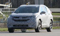 2018 Honda CRV Spied Engine Price