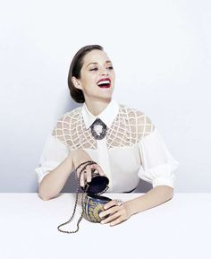 30s Parisian-Inspired Fashion -   The Time Style  Design Fall 2012 Editorial Stars Marion Cotillard