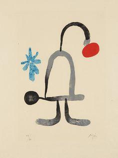 Joan Miró | A toute épreuve: one plate (1958) | Artsy
