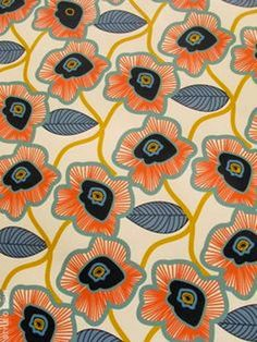 cool pattern for textiles Motifs Textiles, Textile Patterns, Textile Prints, Textile Design, Floral Patterns, Floral Designs, Pretty Patterns, Beautiful Patterns, Surface Pattern Design