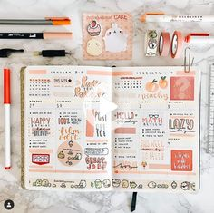 Work on your rainbow bullet journal spread now! Read this article for some incredible rainbow bullet journal theme ideas. Best Bullet Journal Notebooks, Bullet Journal Headers, Bullet Journal 2020, Bullet Journal Aesthetic, Bullet Journal Writing, Bullet Journal Themes, Bullet Journal Layout, Bullet Journal Inspiration, Journal Ideas