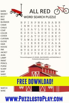 Printable Puzzles, Crossword Puzzles, Free Printable Worksheets, Printable Labels, Printables, Free Word Search Puzzles, Word Search Games, Word Games, Puzzle Games