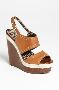 Jessica Simpson 'Geno' Sandal available at Nordstrom  (I just bought a pair Sz. 11 ~ $90.**)
