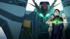Animation News, New Mobile, Insurgent, Mobile Suit, Gundam, Netflix, The Outsiders, Japan, Suits