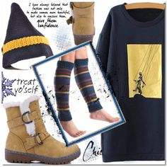 Casual outfit by jecakns on Polyvore featuring moda and Haffke